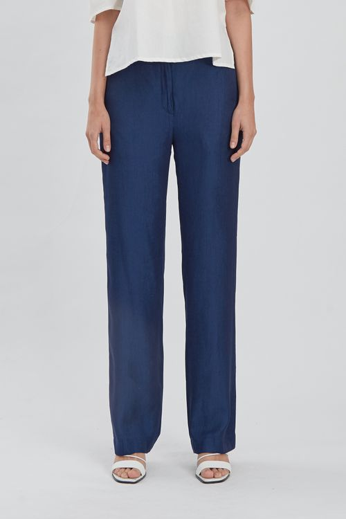 Shopatvelvet Edition Trousers Denim Blue