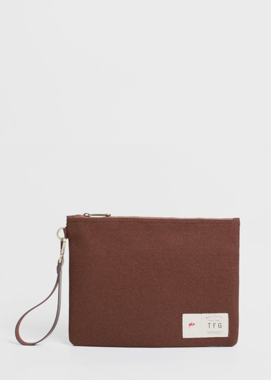 Taylor Fine Goods Pouch Daily 213 Brown