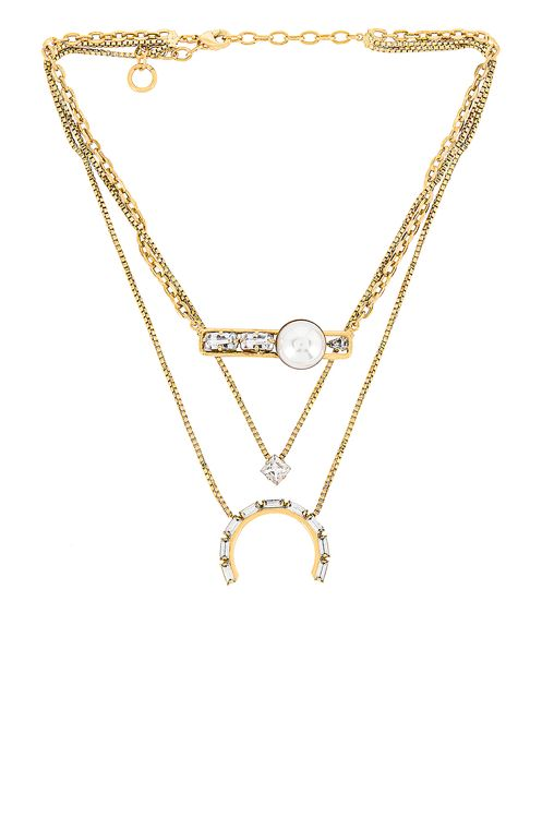 Lionette by Noa Sade Monaco Layered Necklace