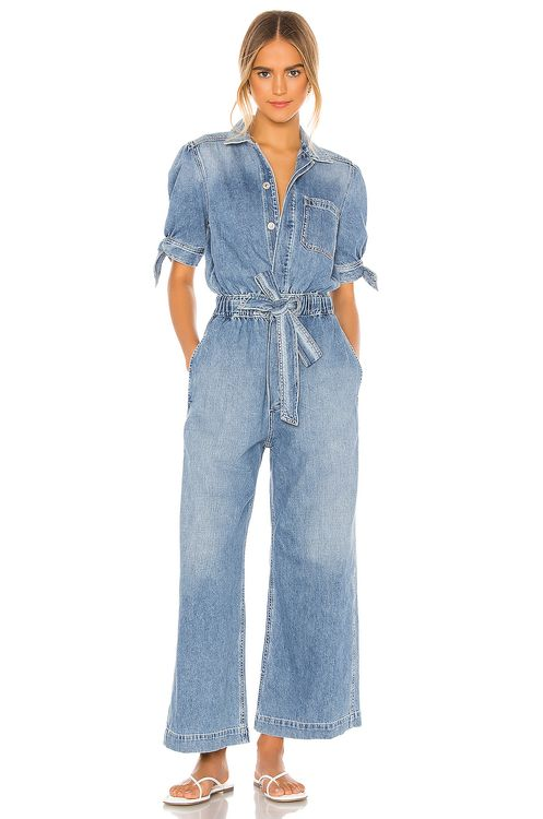 Citizens of Humanity Robyn Knot Sleeve Jumpsuit