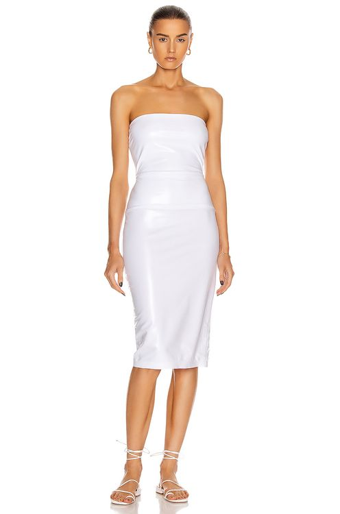 Norma Kamali for FWRD Strapless Dress