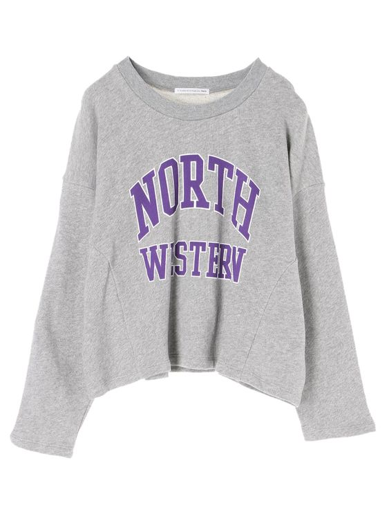 E-hyphen World Gallery Rania Sweatshirt - Gray Mixture