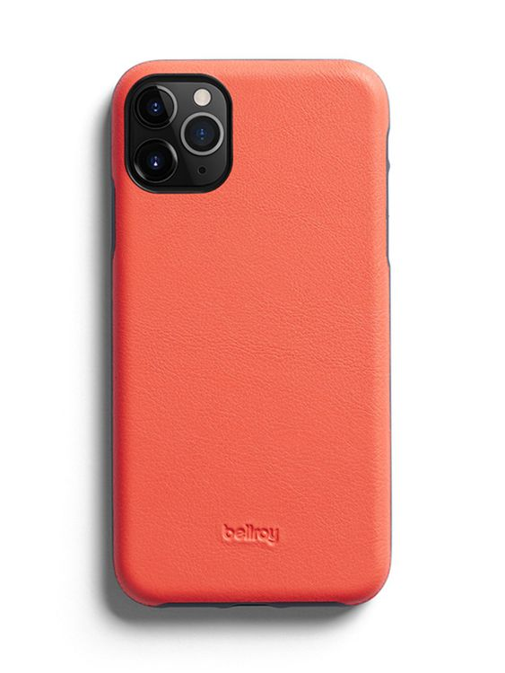 Bellroy Bellroy Leather Phone Case for iPhone 11 Pro Coral