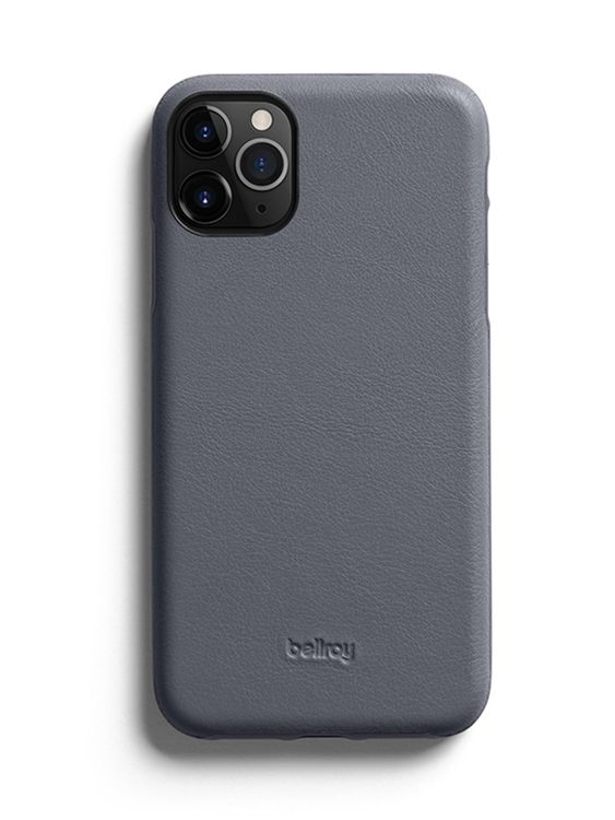 Bellroy Bellroy Leather Phone Case for iPhone 11 Pro Graphite