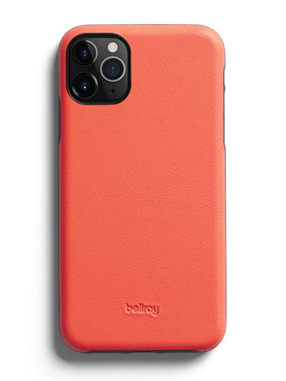 Bellroy Bellroy Leather Phone Case for iPhone 11 Pro Max Coral