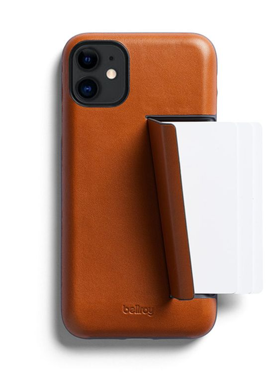 Bellroy Bellroy Leather Phone Case 3 Card for iPhone 11 Caramel