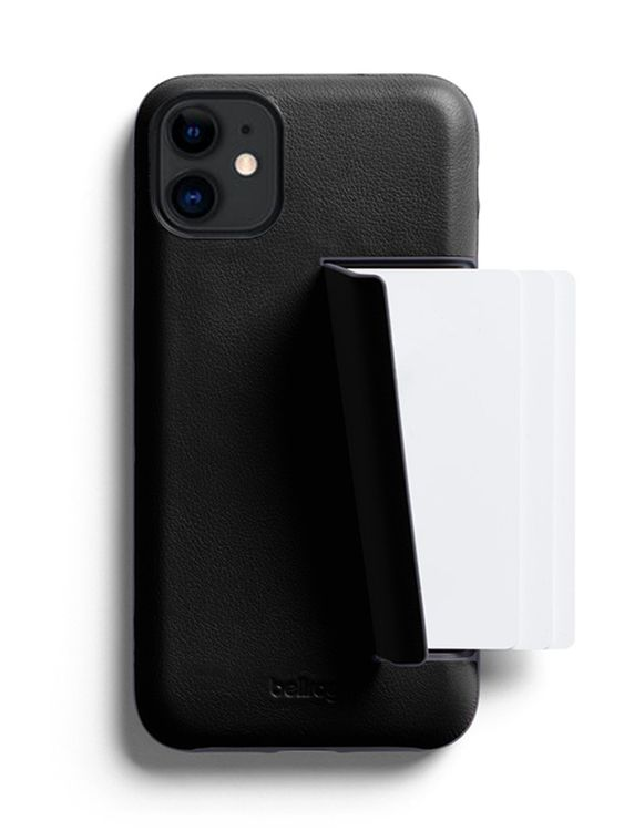 Bellroy Bellroy Leather Phone Case 3 Card for iPhone 11 Black