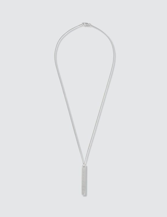 Maison Margiela Numbers Necklace