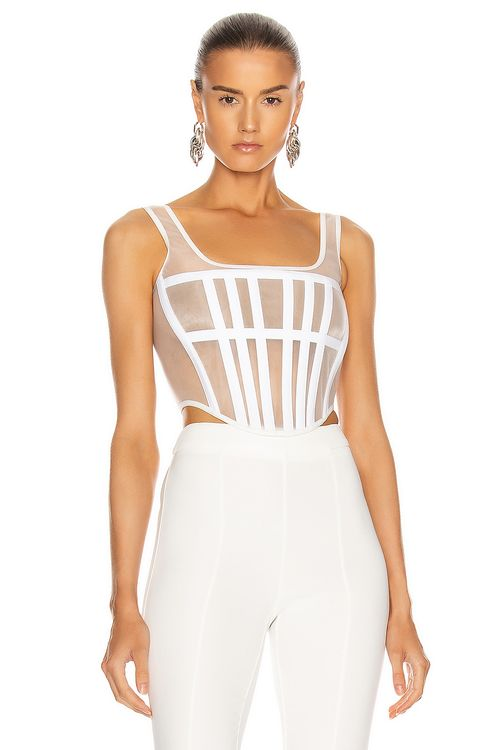 Dion Lee Spacer Knit Corset Top