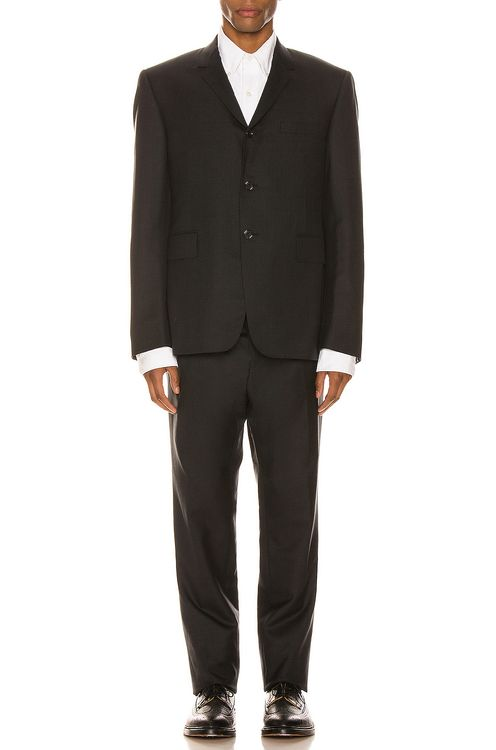 Thom Browne Classic Suit With Tie