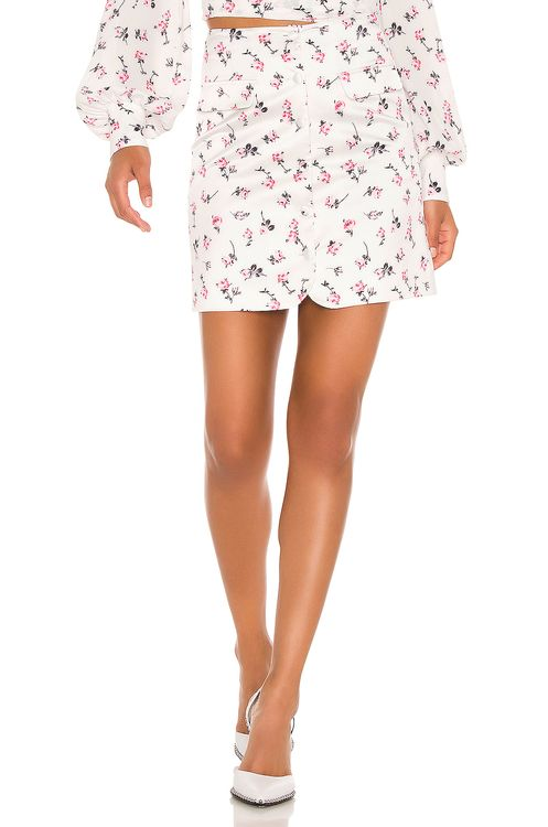 BROGNANO Floral Mini Skirt