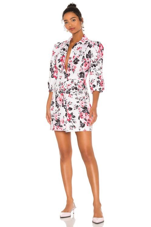 BROGNANO Floral Mini Dress