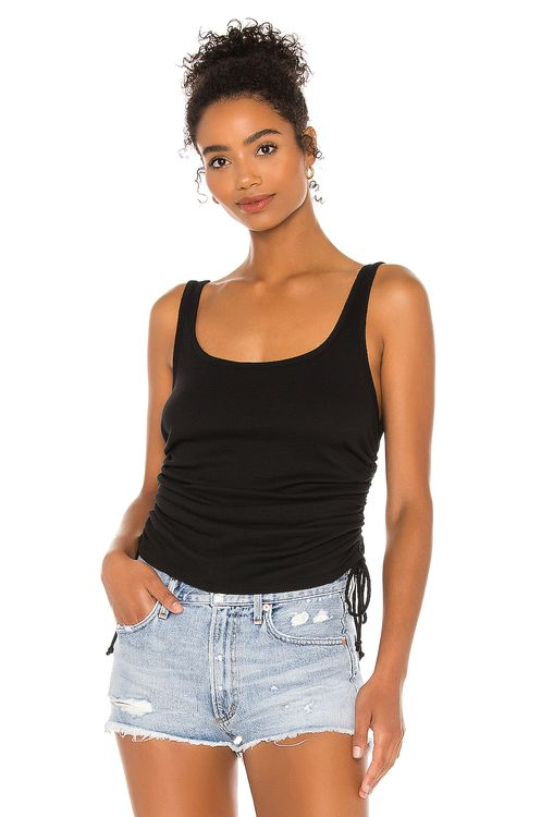 Chaser Shirred Sides Double Scoop Tank