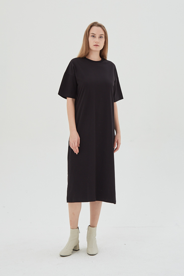 Shopatvelvet Day Dress Black