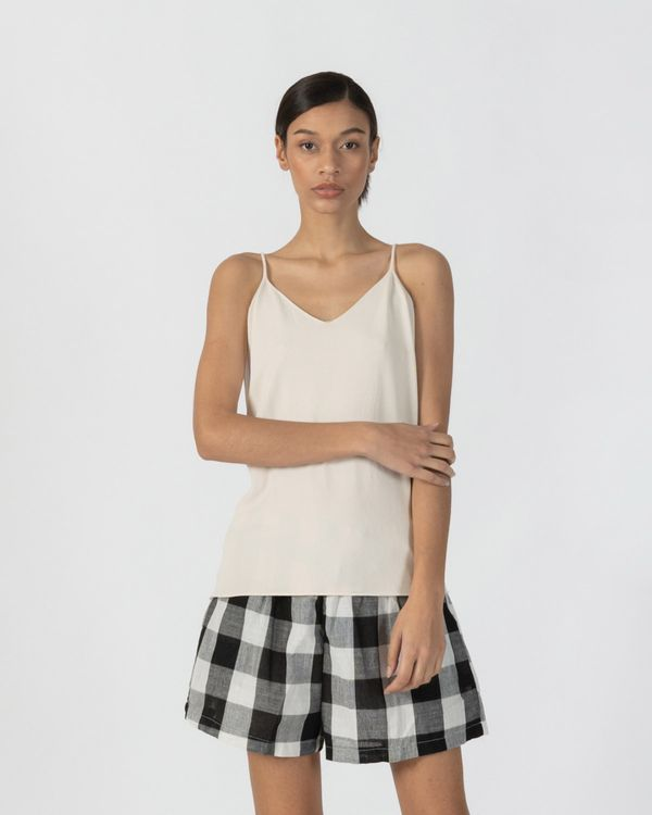 3Mongkis Zora Knit Top Off White