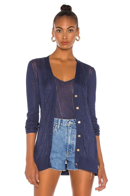 L'Agence Millie Button Down Cardigan