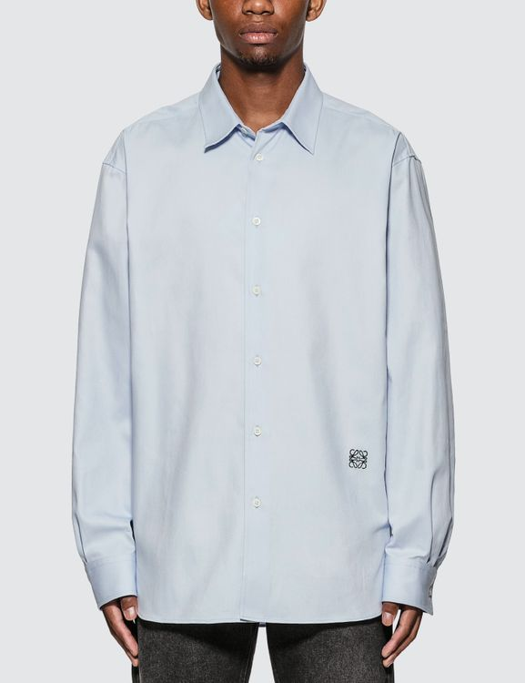 Loewe Anagram Embroidered Oversize Shirt