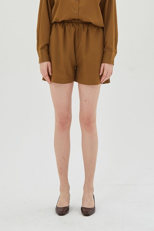 Shopatvelvet Victory Shorts Brown