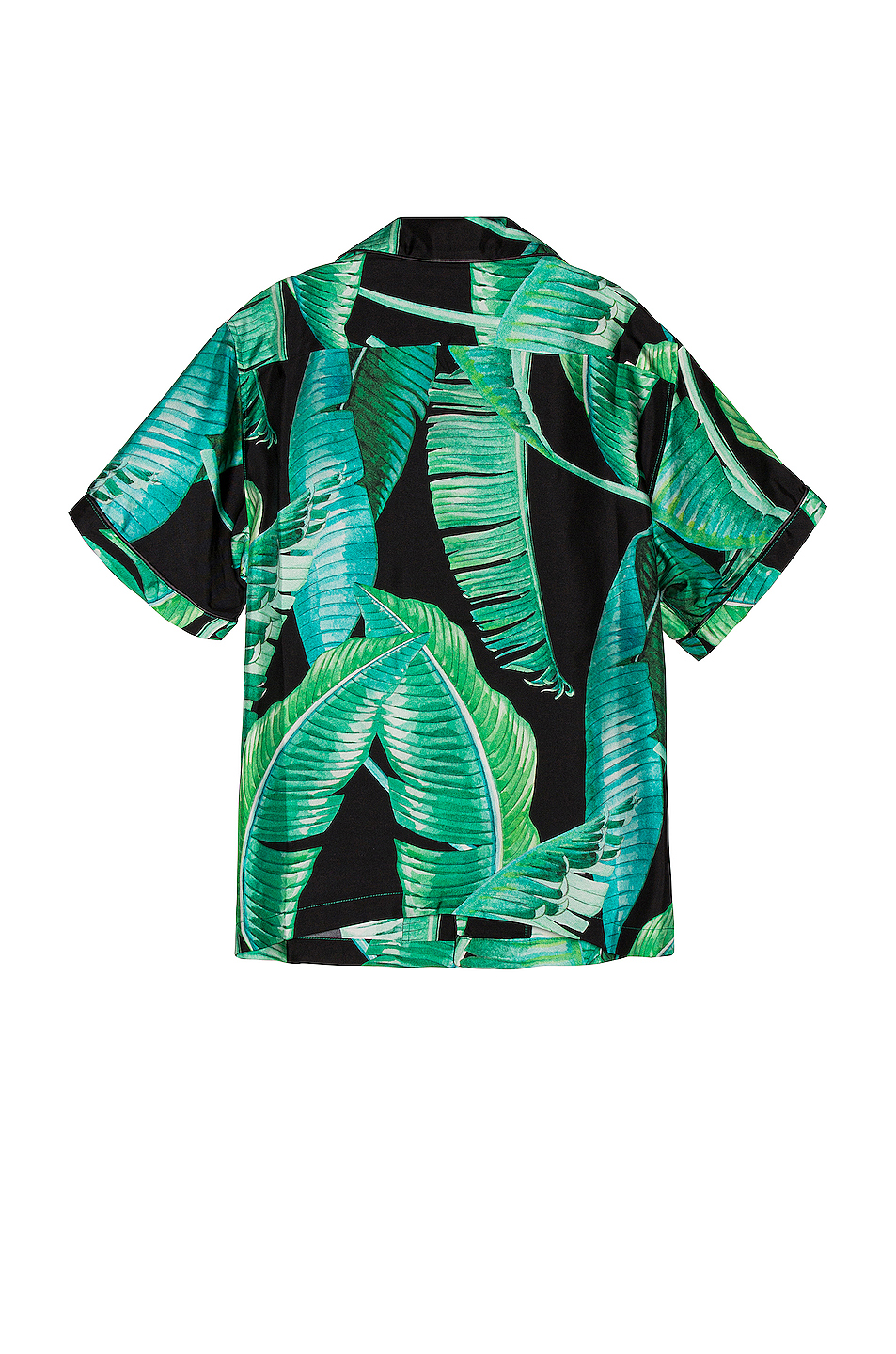 Amiri Banana Leaves Short Sleeves Pajama Shirt