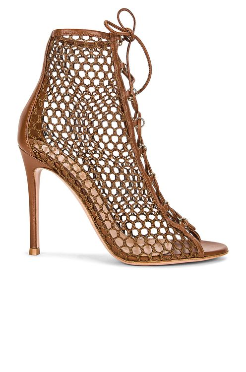 Gianvito Rossi Cage Booties