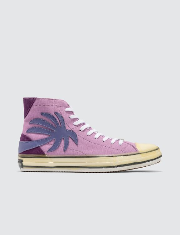 Palm Angels Palm High Top Canvas Sneaker