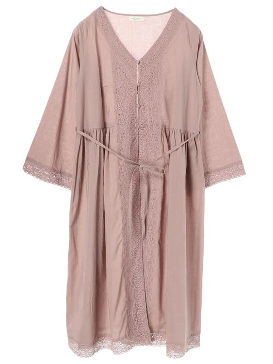 Earth, Music & Ecology Nanae Dress - Pink Beige