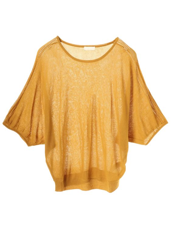 Earth, Music & Ecology Yumede Top - Mustard