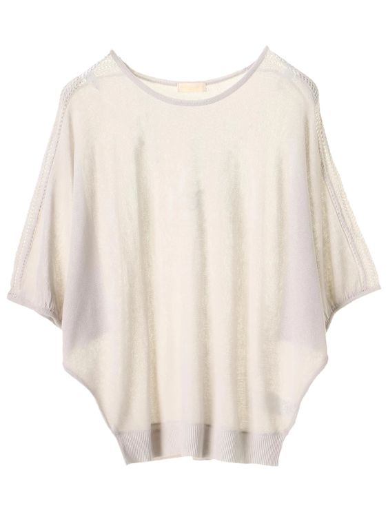 Earth, Music & Ecology Yumede Top - Light Gray