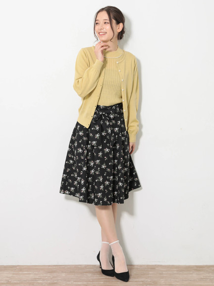 Earth, Music & Ecology Melinda Skirt - Flower