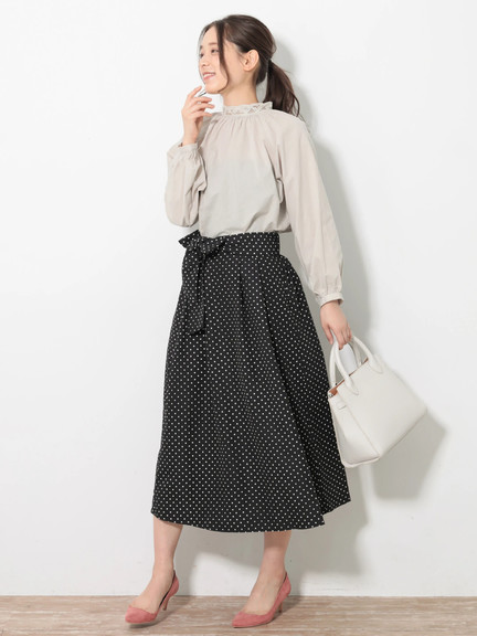 Earth, Music & Ecology Nicola Skirt - Dot