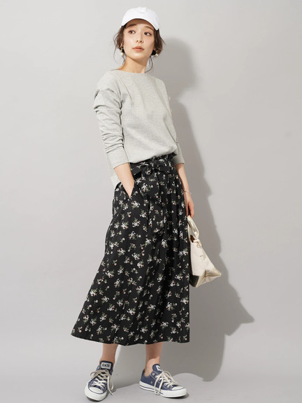 Earth, Music & Ecology Nicola Skirt - Flower