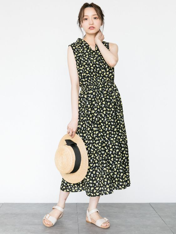 Earth, Music & Ecology Kiko Dress - Black