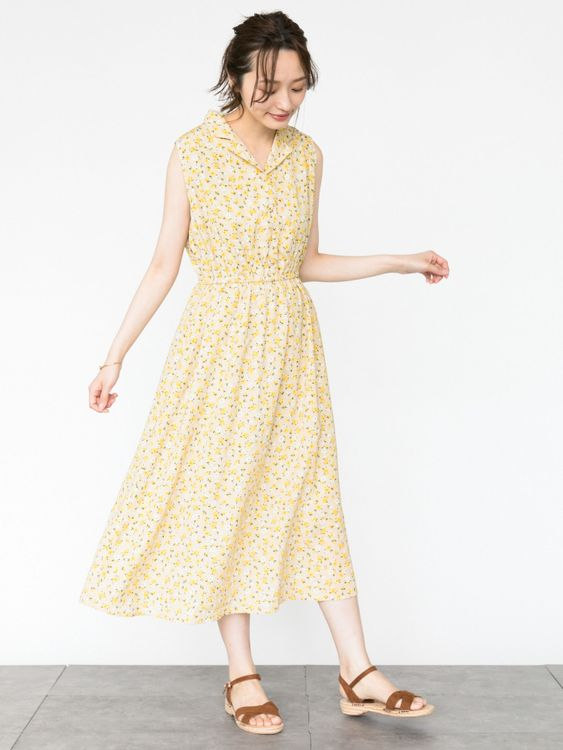 Earth, Music & Ecology Kiko Dress - Beige