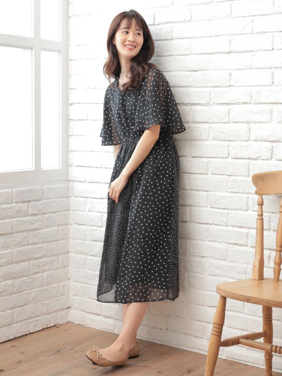Earth, Music & Ecology Kishiyami Dress - Dot