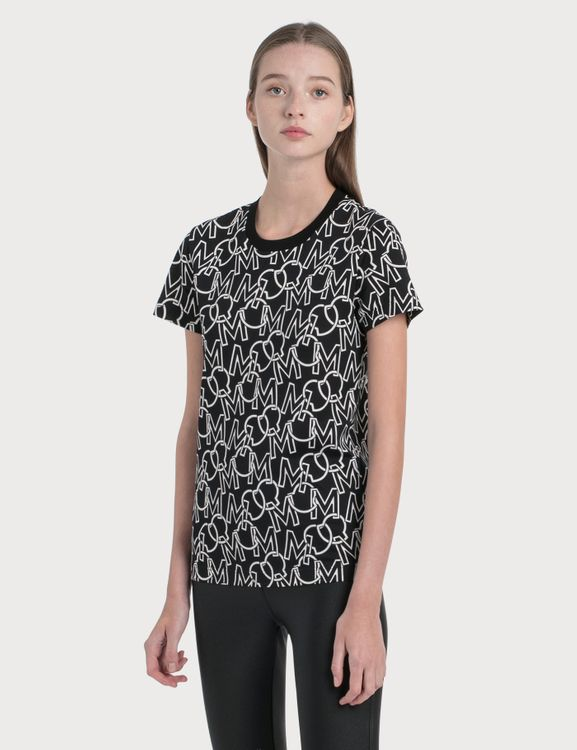 Moncler All Over Printed T-Shirt