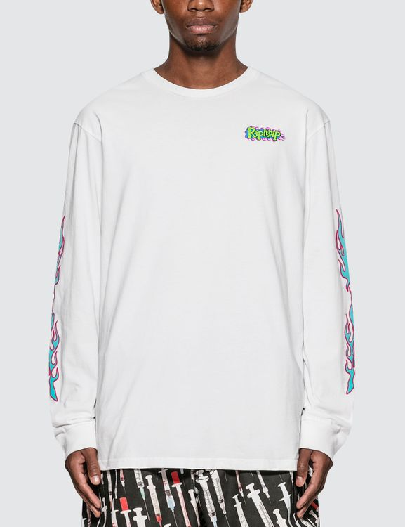 RIPNDIP Flaming Hot Long Sleeve T-Shirt