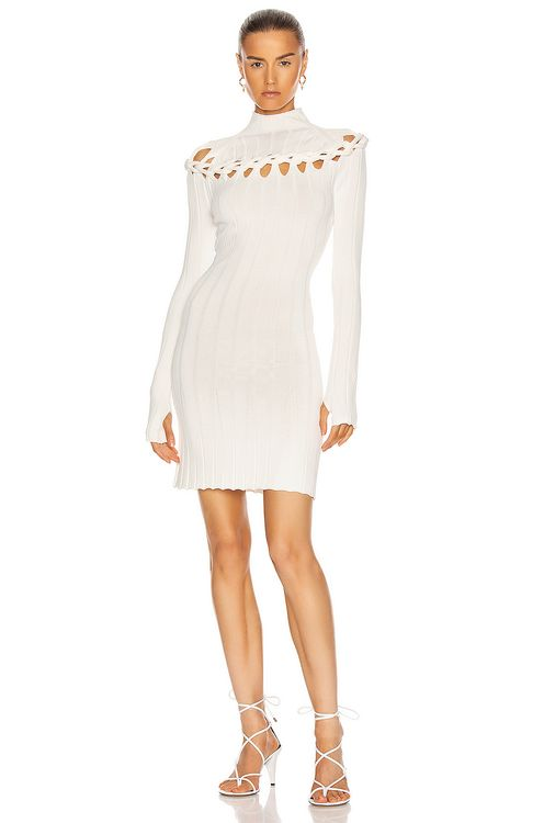 Dion Lee Braid Skivvy Mini Dress
