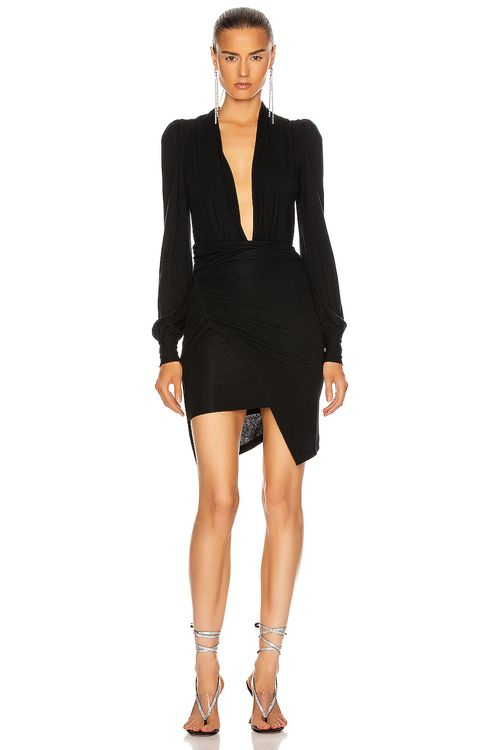 Redemption Wrapped Mini Dress