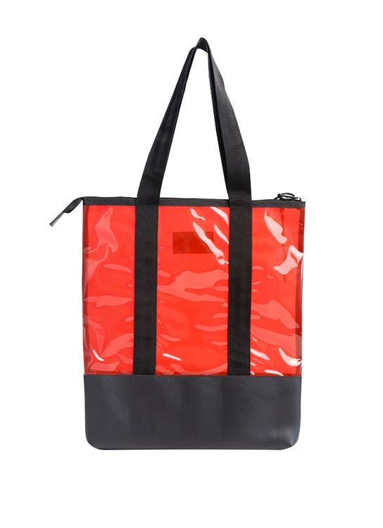 Taylor Fine Goods Tote Bag Glassy 502 Red