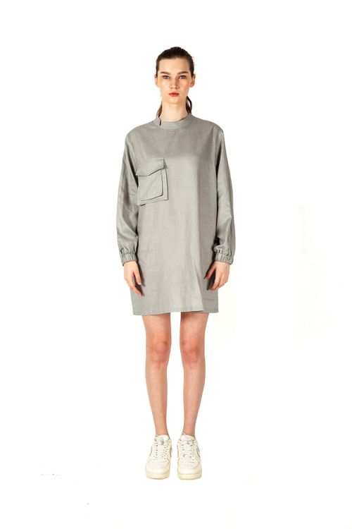 Saint York Gilroy Dress Grey