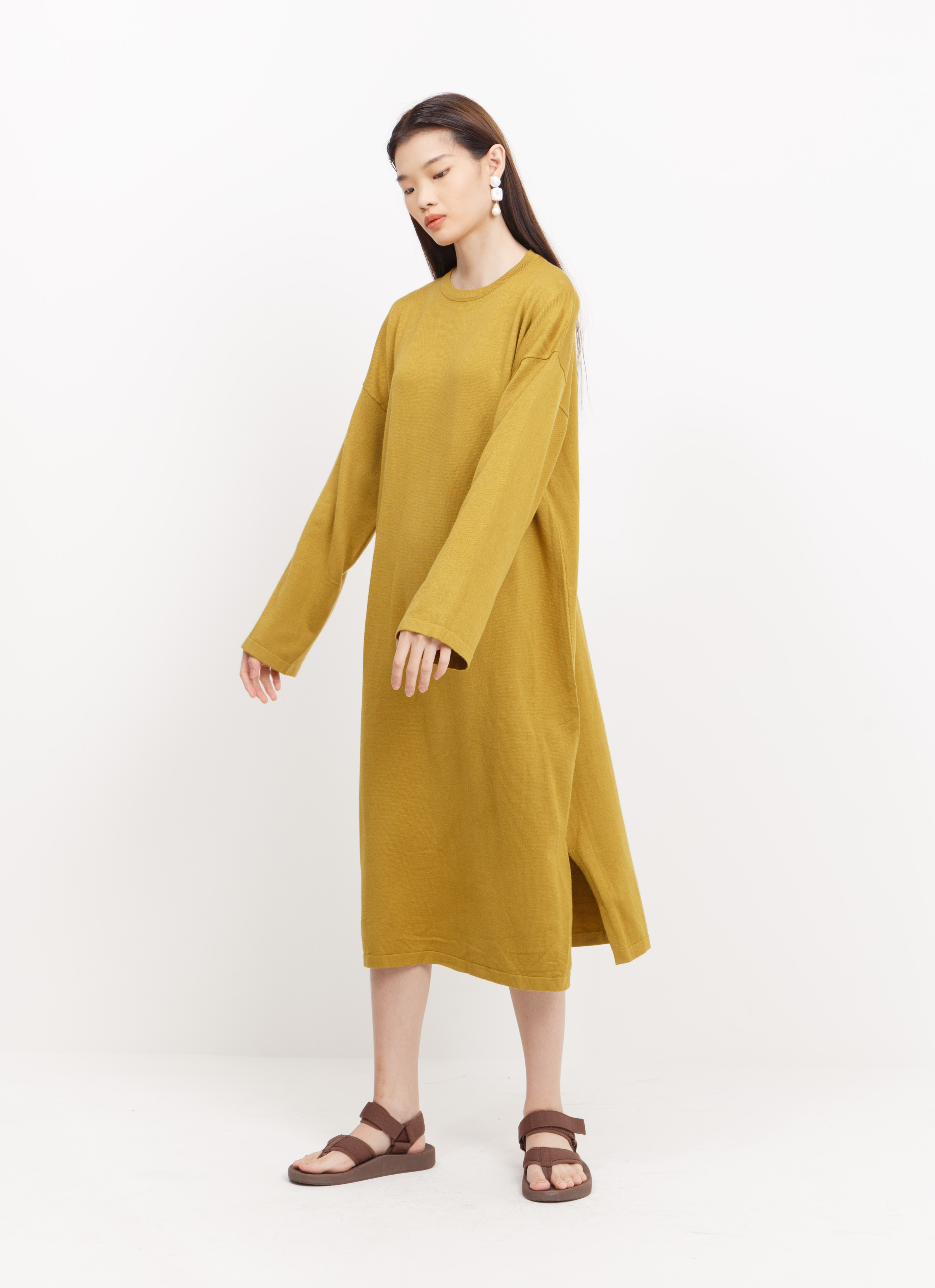BOWN Ludovic Dress - Mustard