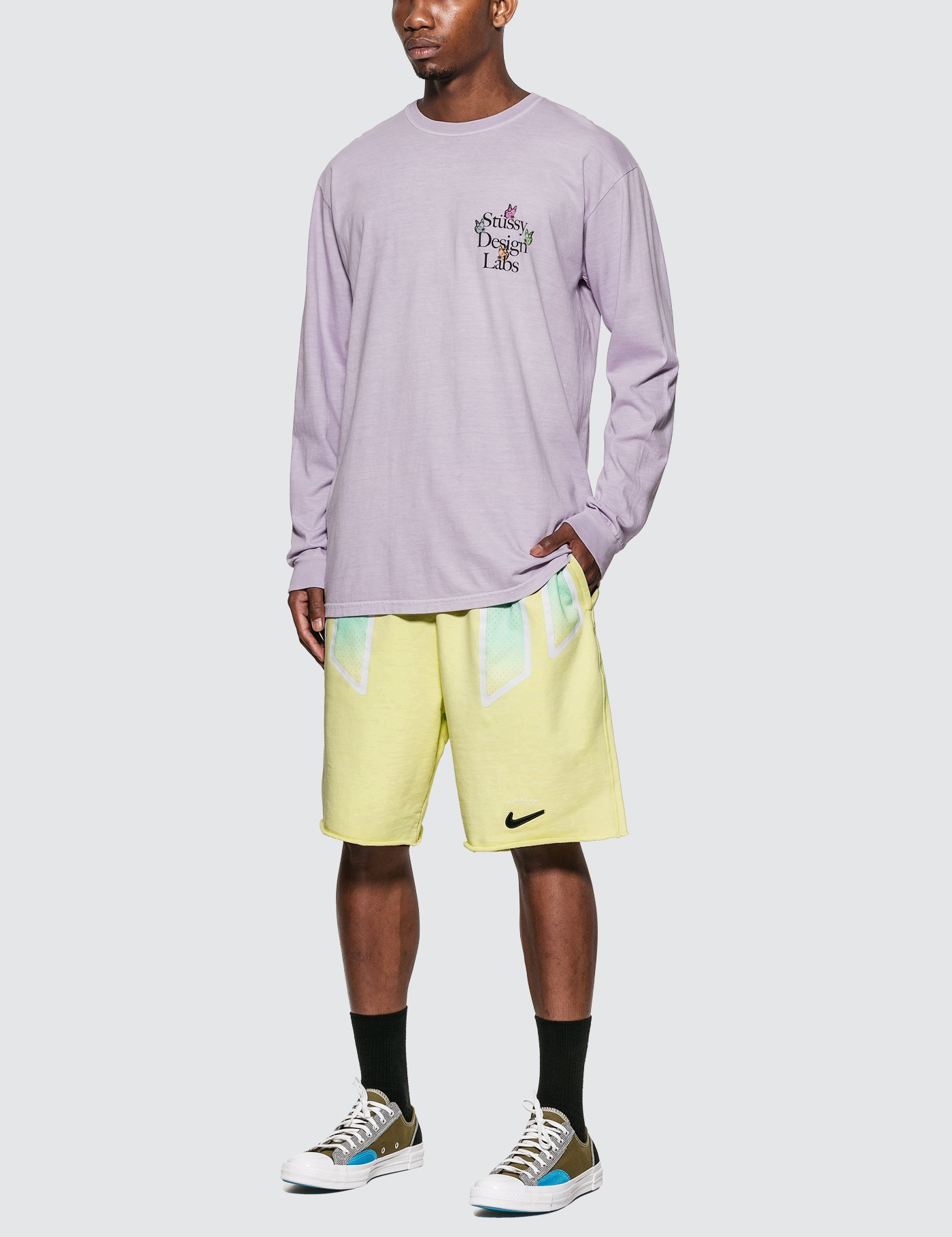 Stussy Design Labs Pigment Dyed Long Sleeve T-Shirt