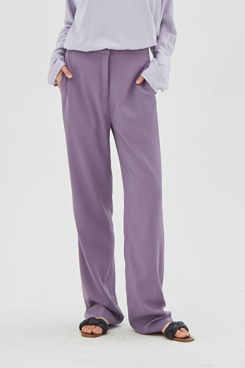 Shopatvelvet Edition Trousers Lavender