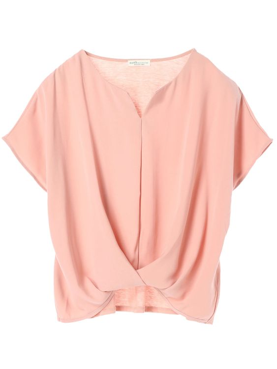 Earth, Music & Ecology Emillie Top - Salmon Pink