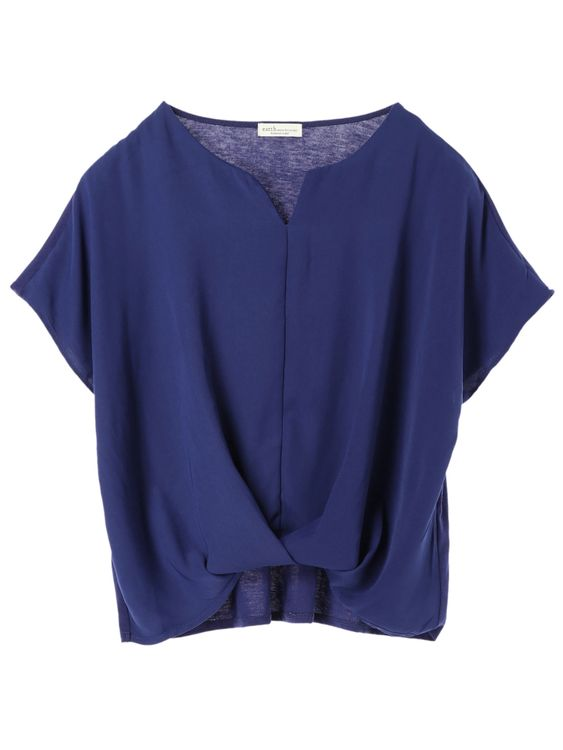 Earth, Music & Ecology Emillie Top - Dark Blue