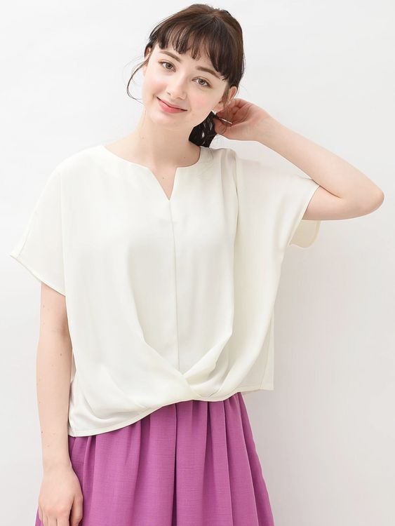 Earth, Music & Ecology Emillie Top - Off White