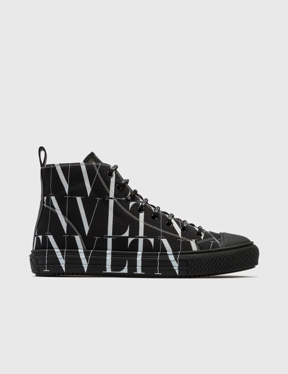 Valentino Garavani VLTN Times Giggies High-top Fabric Sneaker