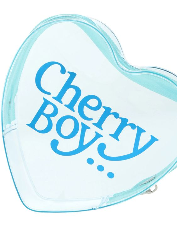 Nicoron Cherry Girl Pouch - Blue