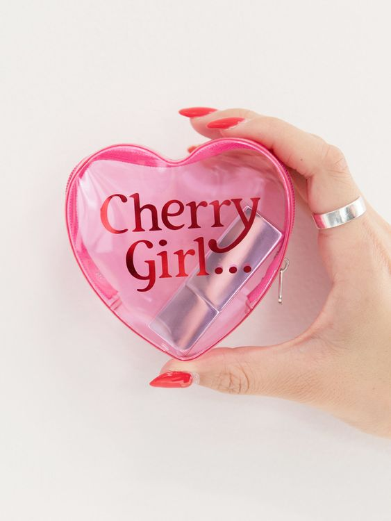 Nicoron Cherry Girl Pouch - Pink