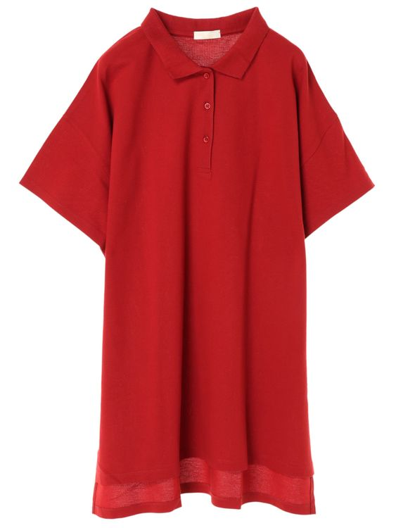 Earth, Music & Ecology Jayde Dress - Red